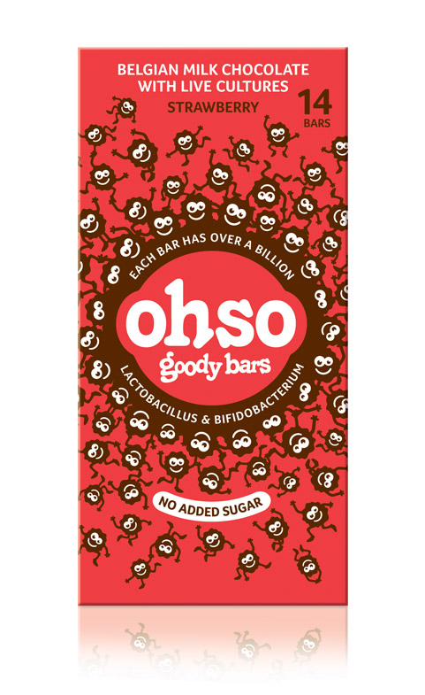 Ohso Strawberry Goody Bars