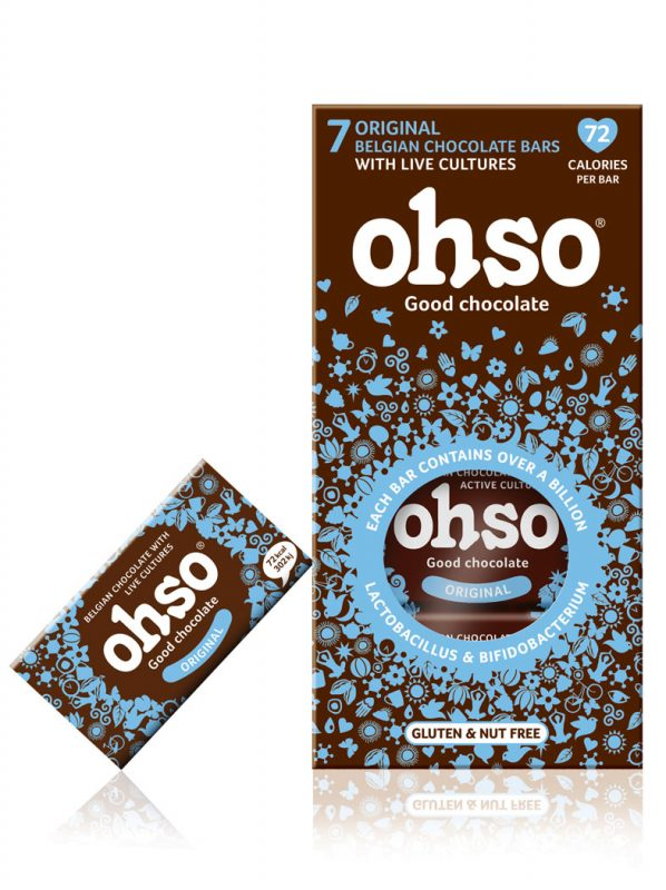 Ohso Original Probiotic Belgian Chocolate