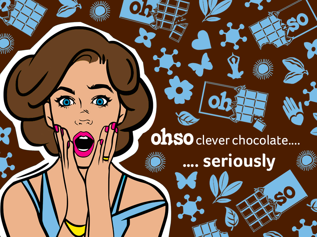Ohso clever Chocolate, seriously. probiotic Belgian Chocolate