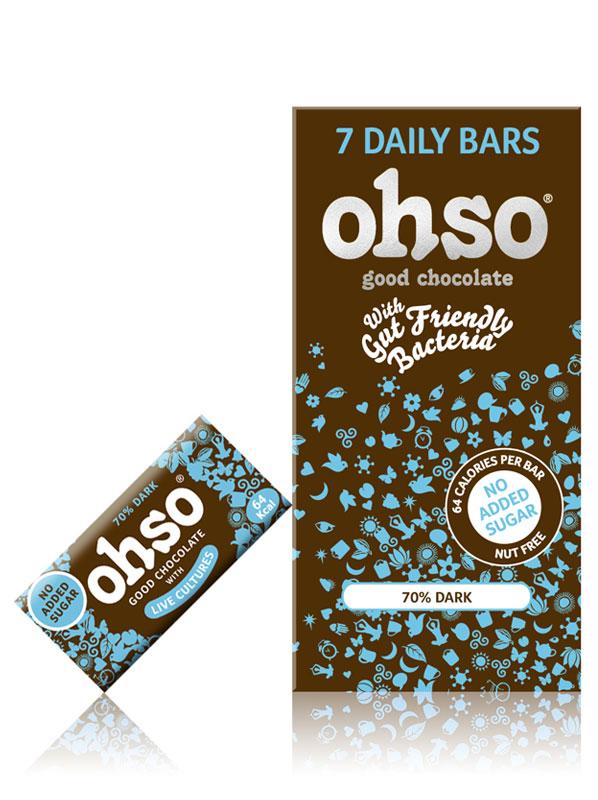ohso dark 70% cocoa